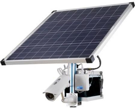 camera 3g a alimentation solaire pour suivi chantier