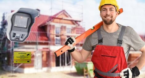 alarme vidéo pour chantier de construction, electricite, plomberie