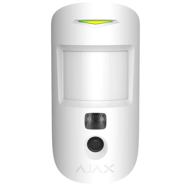 détecteur caméra alarme ajax motion cam