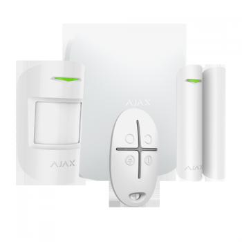 alarme Ajax avec générateur de brouillard fumigène