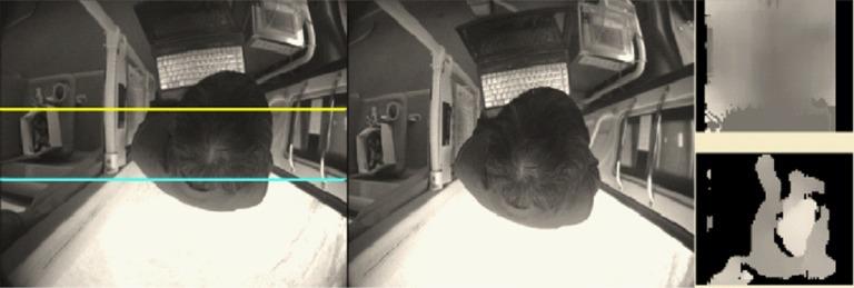 détection entrées sorties des passager bus par caméra de comptage