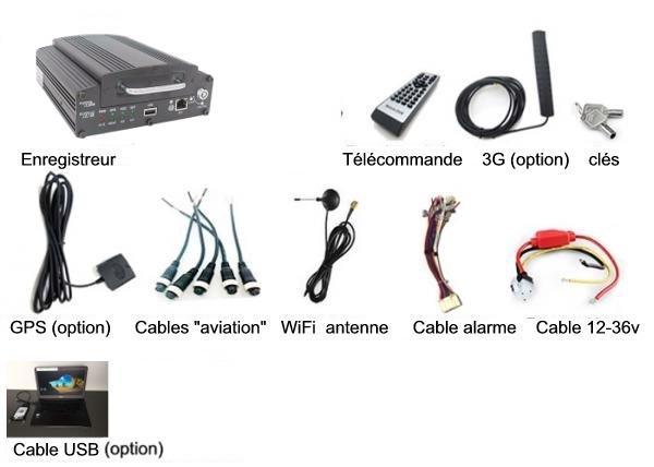 composition du lit videoprotection embarque pour autocar
