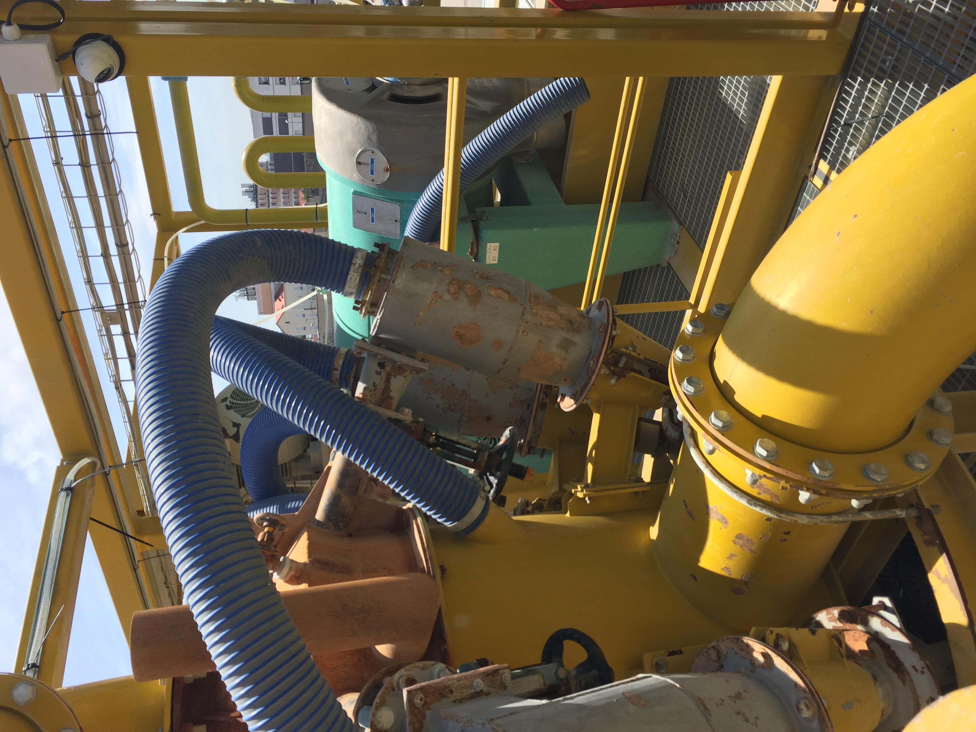 controel pression tubes de dessablage