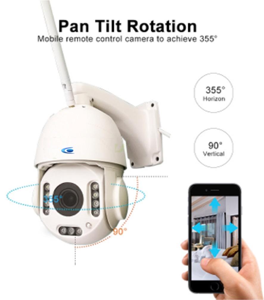 camera ptz 360 degres en 3G 4G