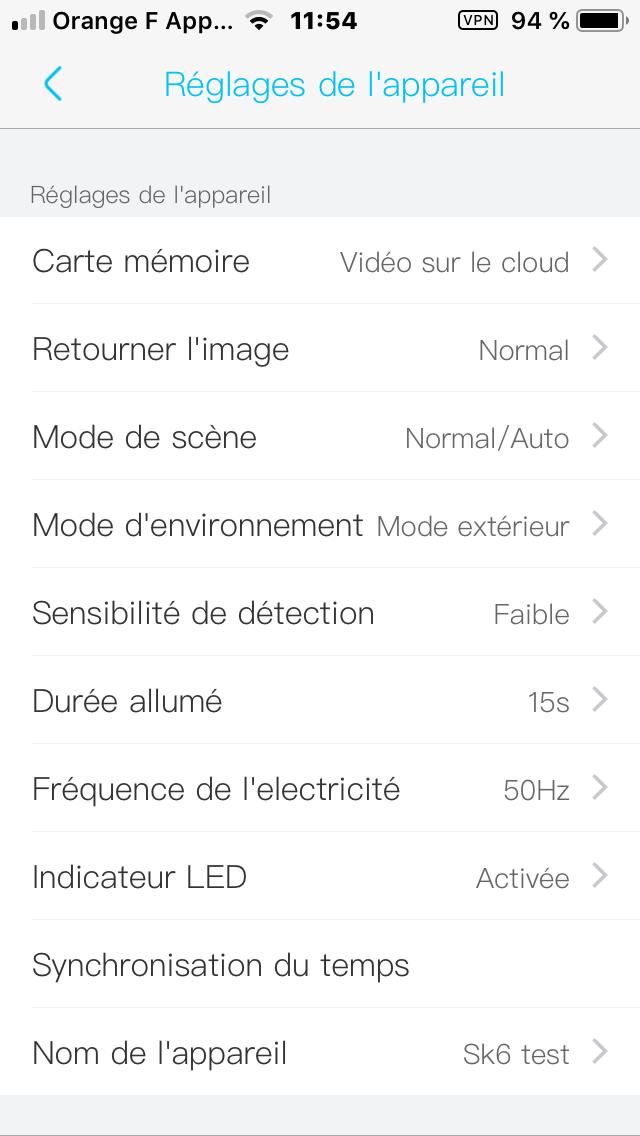 camera 4G pilotable par application Ubox sur smartphone