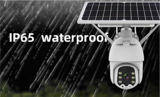 caméra 3G 4G PTZ extérieure étanche