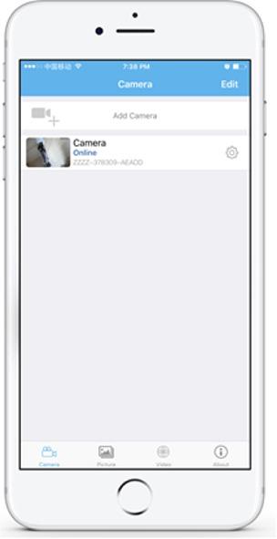 parametrage camera exterieur 4g sur android