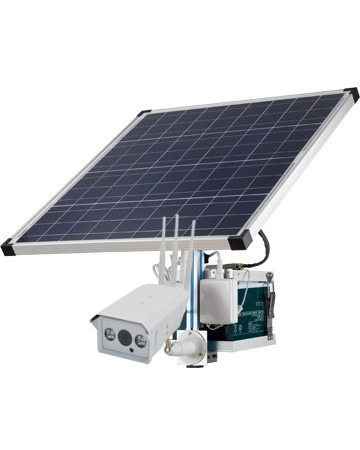 camera solaire avec carte sim