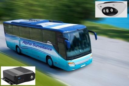 kit cameras de surveillance autocar bus