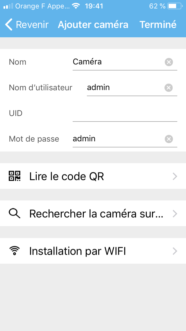 alarme videosurveillance sur android iphone