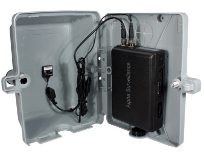 camera espion dans boitier electrique chantier construction