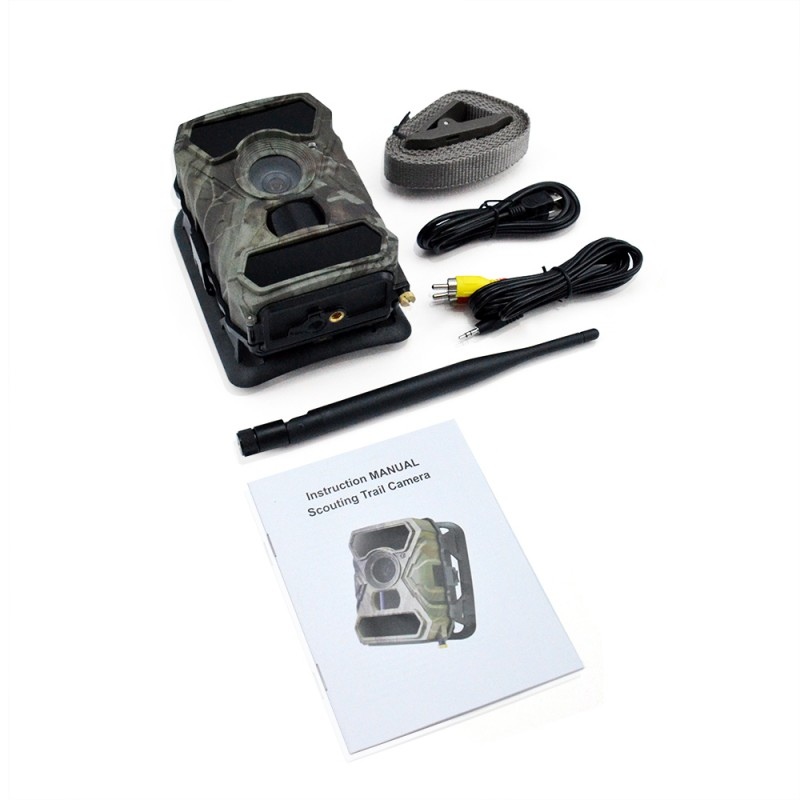 kit camera gsm 3g autonome a detection intrusion