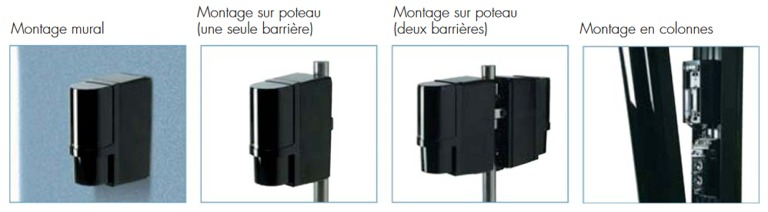 installation barriere infrarouge sans fil