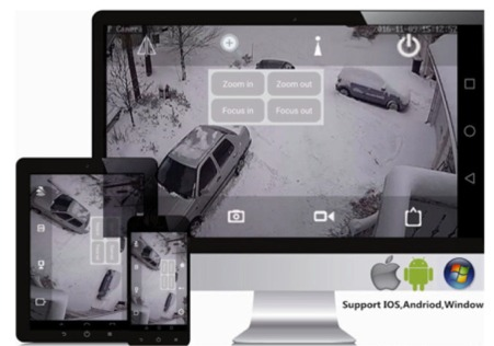 surveillance video sur smartphone android ou iphone
