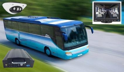 camera embarquée autocar, autobus