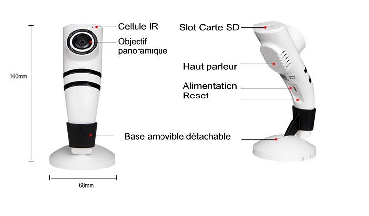 camera de surveillance maison discrete