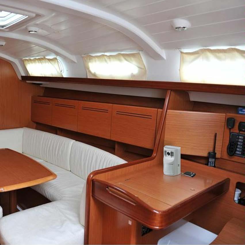 alarme gsm autonome dans bateau
