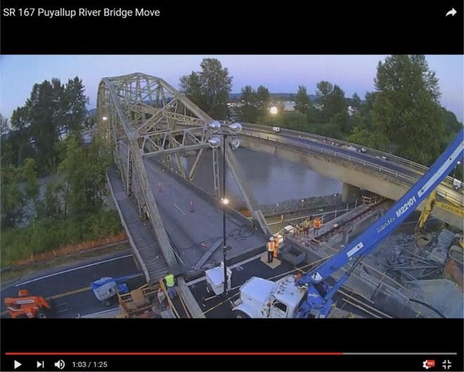 video chantier pont