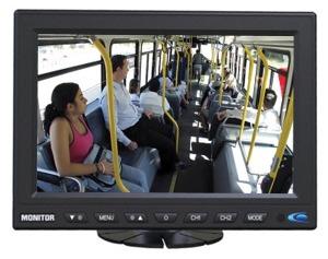 ecran de surveillance autobus