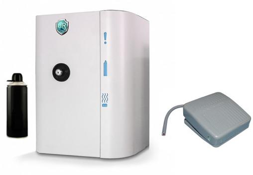 générateur de brouillard anti agression avec pédale alarme