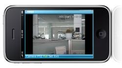videosurveillance sur tablette et smartphone