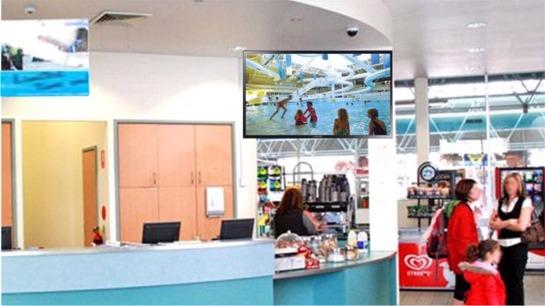camera video live pour affichage ecran reception loisirs
