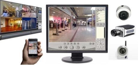 type de camera de videosurveillance et vision à distance