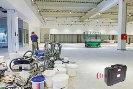 kit alarme autonome sur chantier electricite plomberie temporaire