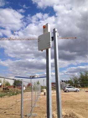 alarme chantier autonome