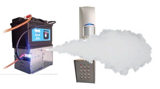 generateur de brouillard autonome sur batterie